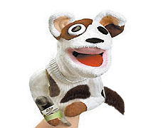 Sockpuppet with mustache2