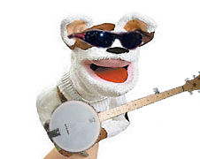 Sockpuppet rock n roll dude