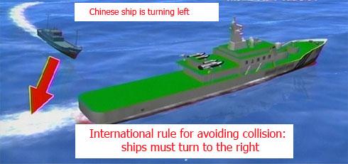 Chinese-ramming-intent