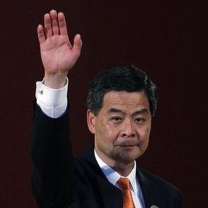 Hong Kong chief executive Leung Chun-ying