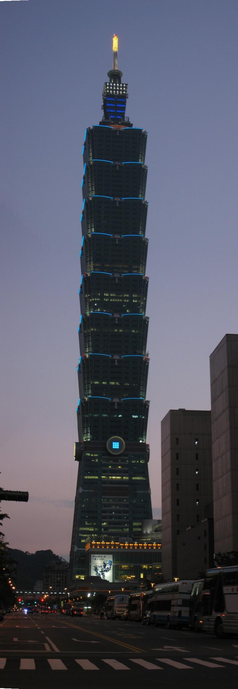 Taipei 101 Taipei  SkyscraperPagecom